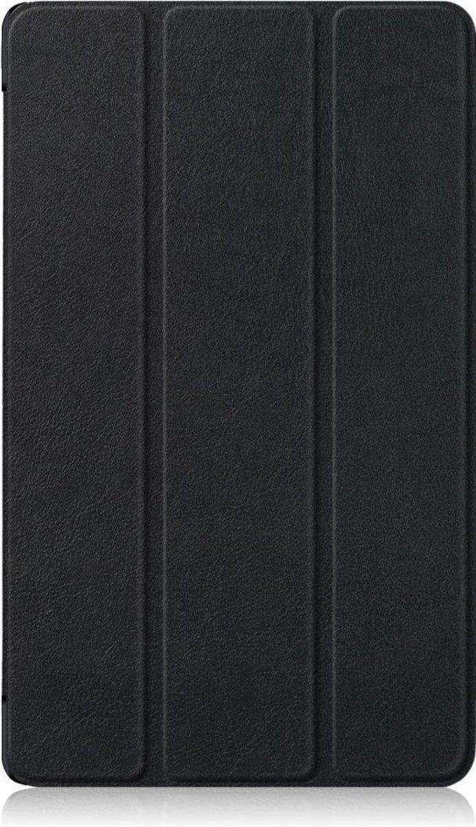 Shop4 - Huawei MediaPad M5 8.4 Hoes - Smart Book Case Zwart - Shop4