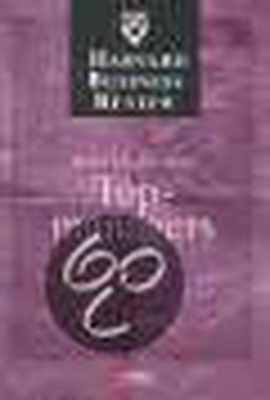 Cover van het boek 'Harvard business review topmanagers'