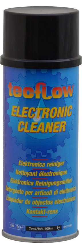 Tecflow Electronic Cleaner | Contact Spray 400ml