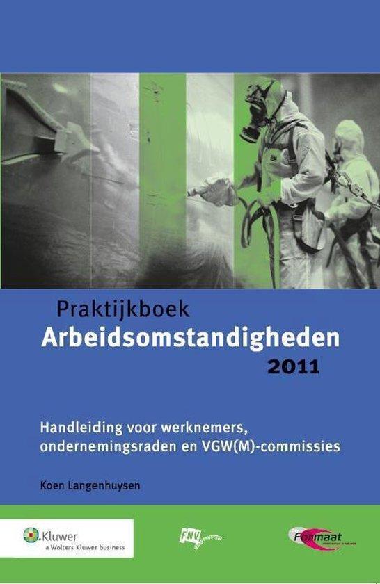 Cover van het boek 'Praktijkboek Arbeidsomstandigheden'