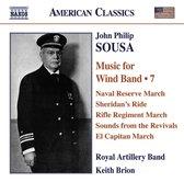 Sousa: Music For Wind Band V.7