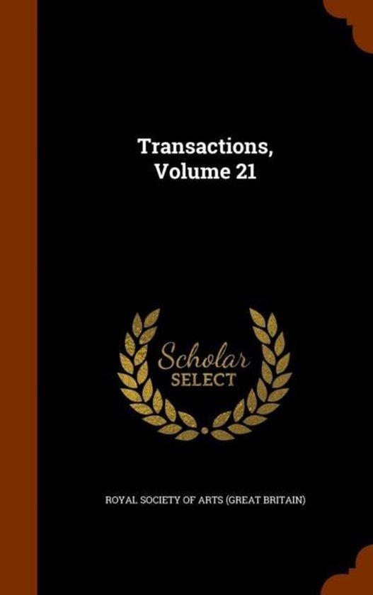 Transactions, Volume 21