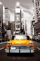 New York poster Times Square gele taxi 61x91.5cm.
