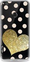 Casetastic Softcover Huawei P8 Lite (2017) - Glitter Heart