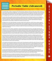 Periodic Table (Advanced)