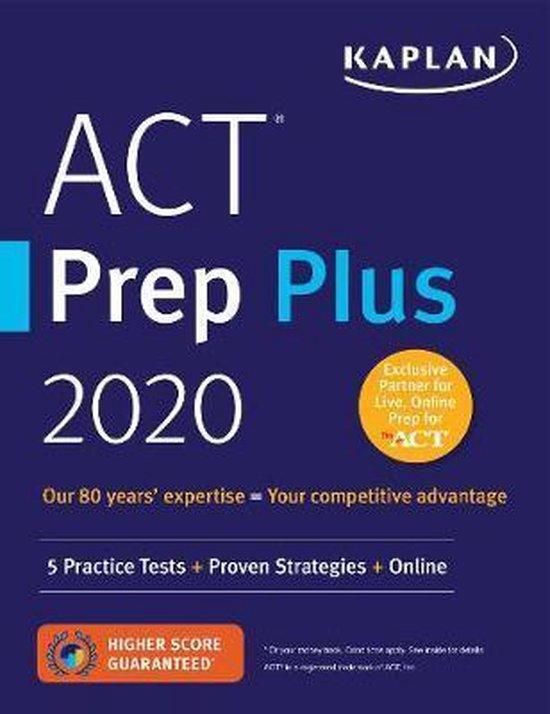 Boek cover ACT Prep Plus 2020 van Kaplan Test Prep