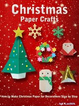 Christmas Paper Crafts: How to Make Christmas Paper for Decorations Step by Step.