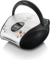 Lenco SCD-24 - Radio CD-speler met AUX-uitgang - Wit