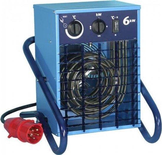 El-Björn VF6 Ventilator elektrisch verwarmingstoestel Binnen Blauw 6000 W