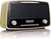 Lenco DAR-012 - DAB+ Radio met Bluetooth en AUX-ingang - Hout