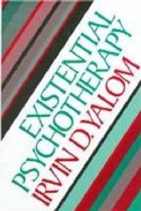 Boek cover Existential Psychotherapy van Irvin Yalom (Hardcover)