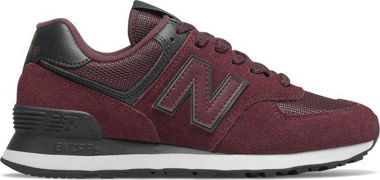 New Balance Sneakers - Maat 37 - Vrouwen - bordeauxrood/zwart