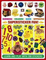 Numbers. Colours. Sizes. Opposites Supersticker Fun!