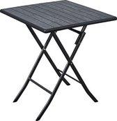 ERRO Bistrotafel - 62x62cm - Zwart - Inklapbaar