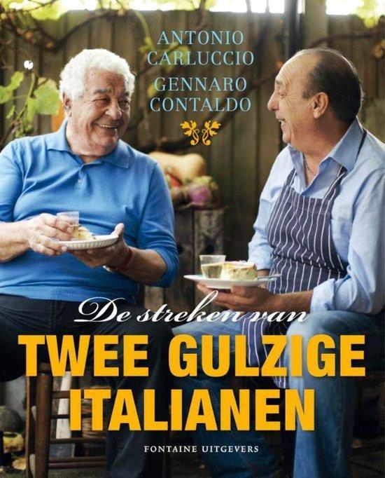 Boek cover De streken van twee gulzige Italianen van Antonio Carluccio