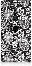 Sony Xperia XZ3 Smart Cover Black Flowers