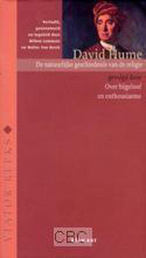 Viator reeks - De natuurlijke geschiedenis van de religie - David Hume |