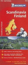 Michelin Scandinavia Finland Map 711