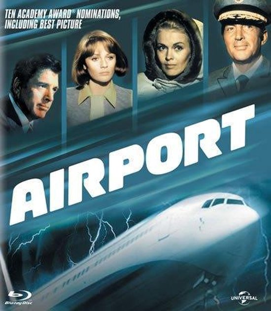 Cover van de film 'Airport'