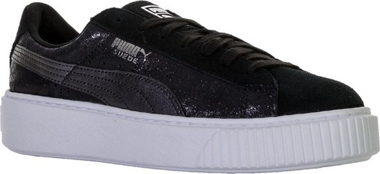 Puma Suede Platform Sneakers - Maat 37 - Mannen - zwart