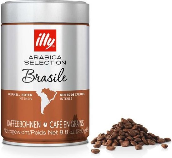 illy Arabica Selection koffiebonen Brazilië - 250 gram