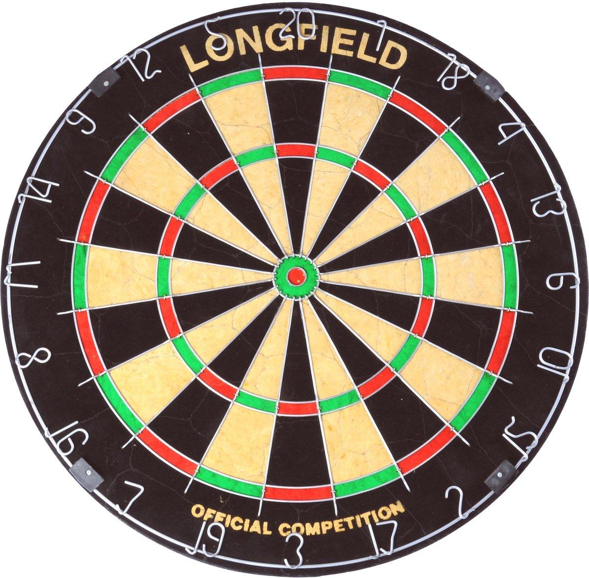 Longfield Wedstrijd Sisal - Dartbord