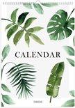 Fabrikten Botanische Verjaardagskalender - A4 - Groen