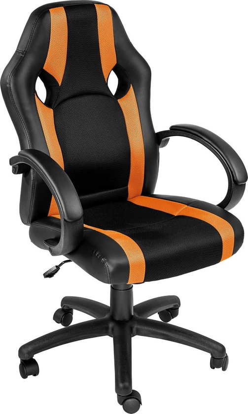 TecTake Benjamin Racing Bureaustoel - gamestoel voor ps4 en ps5