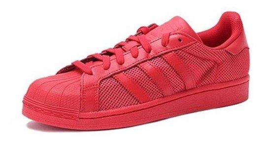adidas superstar heren rood