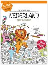 Very Mappy - kleurplaat klapper van Nederland