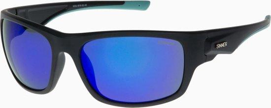 Sinner Bruno Unisex Zonnebrillen - Blauw - One Size