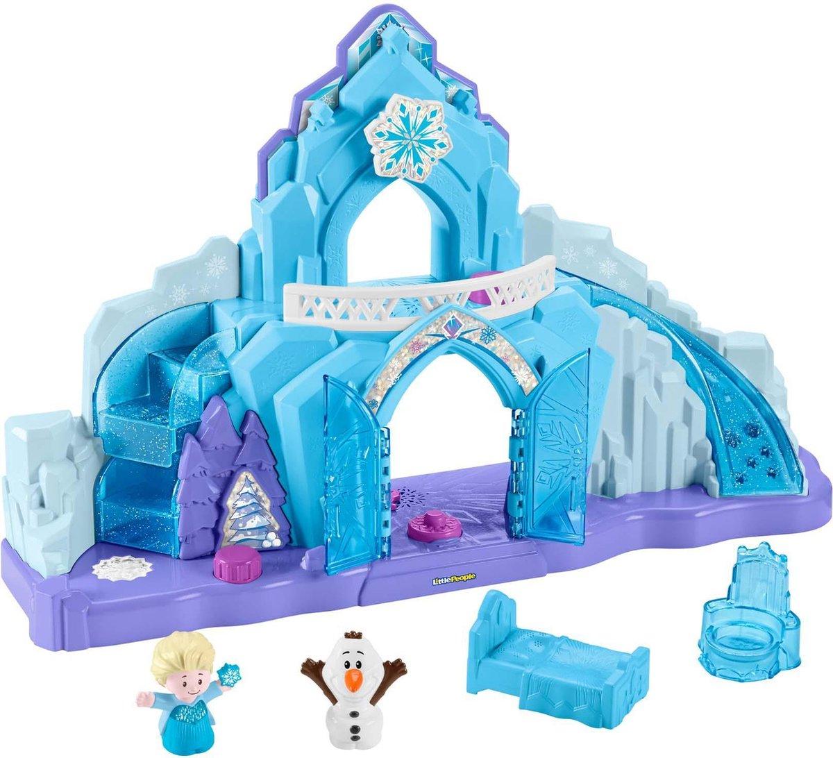 Fisher-Price Little People Disney Frozen Elsa's IJspaleis - Speelfigurenset prijzen vergelijken. Klik voor vergroting.
