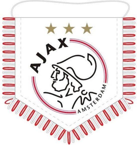 Ajax Banier logo met 3 sterren