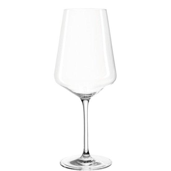 Leonardo Puccini Rode wijnglas Groot - 750 ml - hoogte 26 cm - 6 stuks