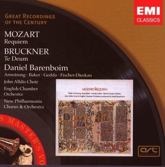 Mozart: Requiem; Bruckner: Te Deum