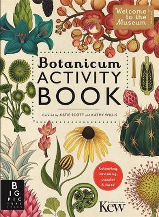 Boek cover Botanicum Activity Book van Professor Katherine J. Willis (Paperback)