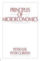 Boek cover Principles of Microeconomics van Peter Curwen