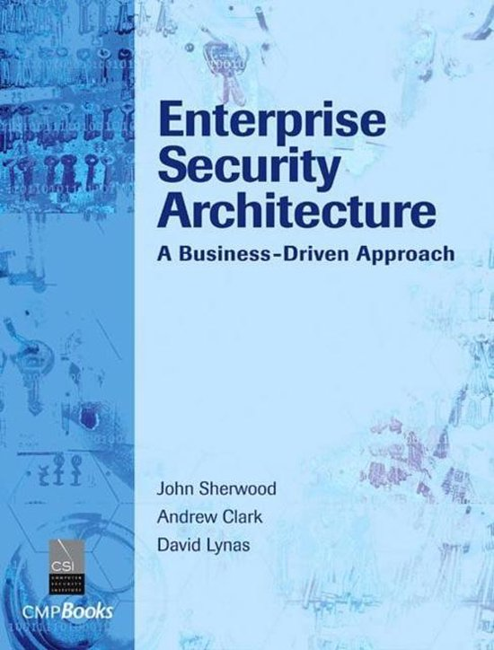 Boek cover Enterprise Security Architecture van Nicholas Sherwood (Hardcover)
