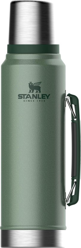 Stanley The Legendary Classic Thermosfles - 1000 ml - RVS/Groen