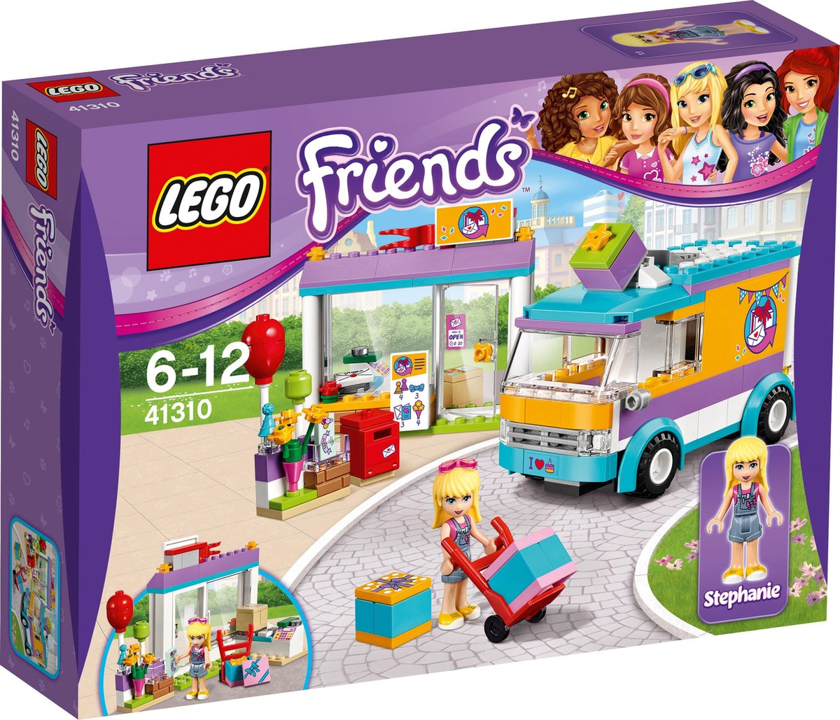 LEGO Friends Heartlake Pakjesdienst - 41310