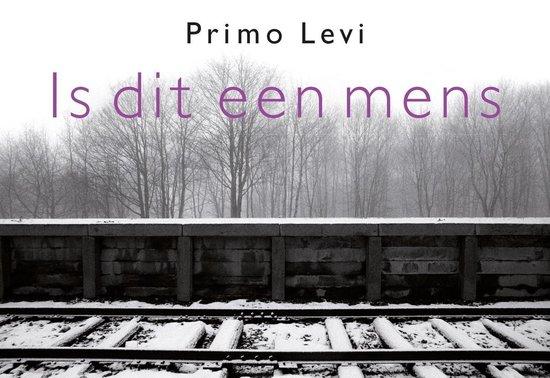 Boek cover Is dit een mens DL van Primo Levi (Onbekend)