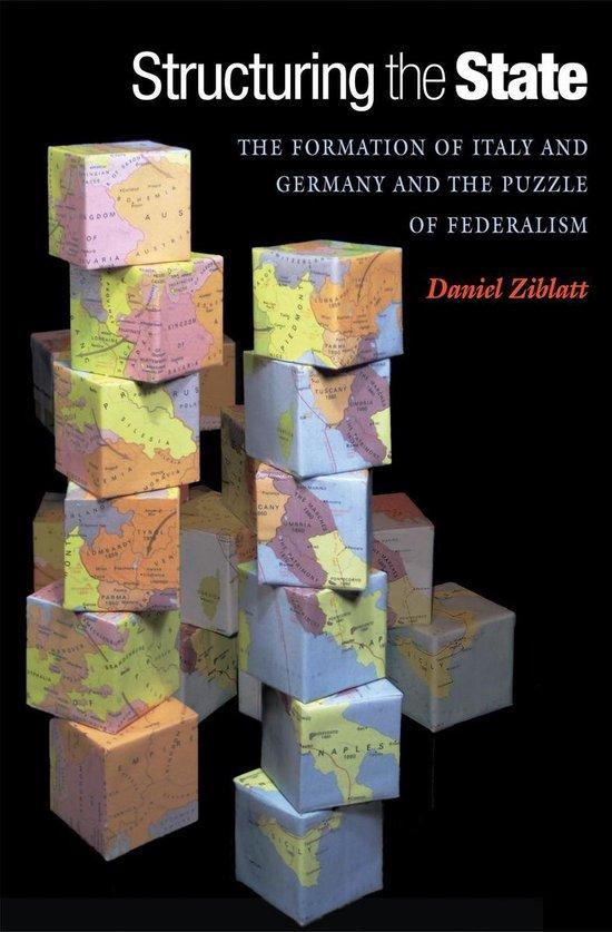 Boek cover Structuring the State van Daniel Ziblatt (Onbekend)