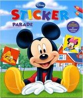 Boek - Kleur- & stickerboek - Mickey Mouse