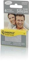 Ohropax - Clear Siliconen Oordoppen - 3 paar