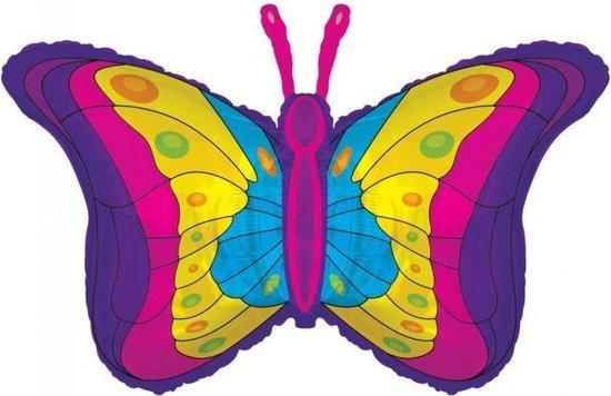 Folie ballon xl vlinder 91,4 cm groot
