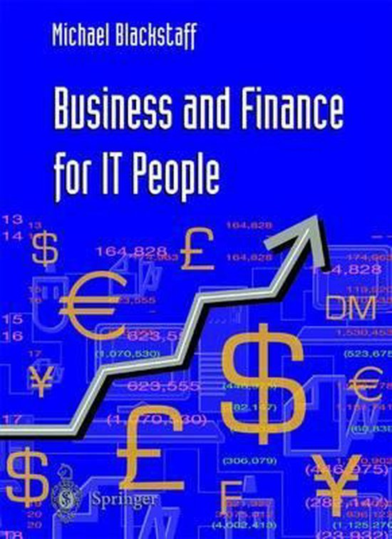 Boek cover Business and Finance for IT People van Michael Blackstaff (Paperback)