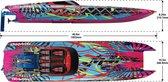 Traxxas M41 Widebody CatamaranRace boat TQi & TSM