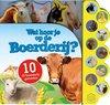 Afbeelding van het spelletje Kinderboeken Icob Boerderij - Geluidenboek: Wat hoor je op de boerderij. 3+