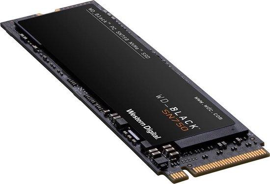WD Black 2TB SN750 (Plus Heatsink)