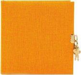 GOLDBUCH GOL-44705 dagboek SUMMERTIME geel met slot